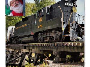 December 4 Santa Train Ride 2 PM