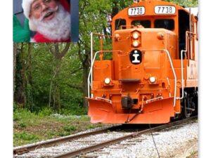December 4 Santa Train Ride 11 AM